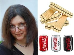 Tatiana Niculescu Bran - napolitane - coca cola