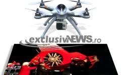 Drona care a filmat elicopterul prăbușit în lacul Siutghiol, recuperată de anchetatori
