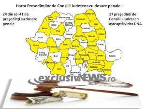 harta presedinti consiliu judetean dosare penale
