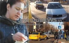 Taximetrist scos vinovat de poliție la Alexandria, pentru un accident produs de judecătoarea Gabriela Rotaru