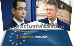 Ponta: Sper ca Iohannis să aibă succes cu aderarea la Schengen pentru că vorbește limba care trebuie