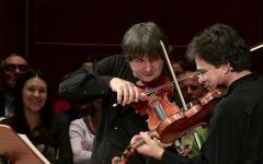 Turneul Duelul Viorilor deschide Luna Enescu la Londra