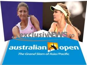 Irina Begu - Eugenie Bouchard - australian open 2015