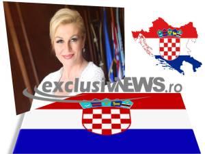 Kolinda Grabar Kitarovic - pesedinte croatia