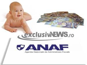 alocatii copii impozitate - anaf