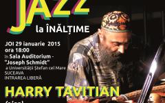 """""""Jazz la înălțime""""  în sala Auditorium a Universităţii Ştefan cel Mare din Suceava"""