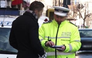pieton amendat politie