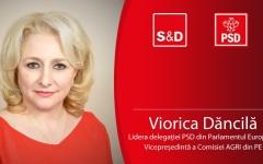 Viorica Dăncilă, nominalizată pentru premiul de cel mai bun europarlamentar pe agricultură