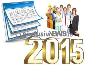 zile libere 2015