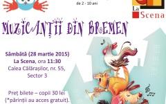 Muzicanții din Bremen, spectacol de teatru interactiv pentru copii
