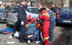 Șase pietoni, spulberați pe un trotuar din zona Tineretului din București, de un șofer începător