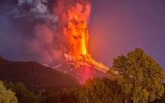 Pericol de călătorie în Chile din cauza erupției vulcanului Villarica