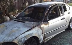 Cinci mașini înmatriculate în România, incendiate la Roma – VIDEO