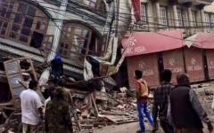 Cutremur devastator în Nepal. Peste 870 de persoane și-au pierdut viața