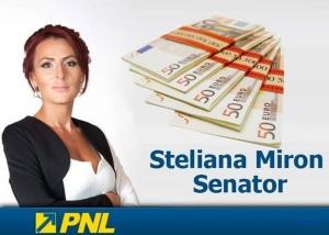steliana miron - senator pnl