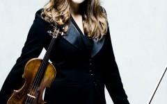 Sarah Nemţanu cântă concertul lui Ceaikovski de la Sala Radio