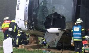 accident romani autocar germania