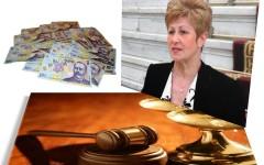 Livia Stanciu, cea care a băgat o femeie nevinovată la închisoare, venit anual de 3 miliarde de lei