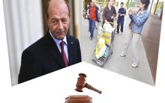 """Traian Băsescu, anchetat penal pentru furt în dosarul """"Țigancă împuțită"""""""