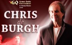 Chris de Burgh, concert extraordinar în București pe 19 noiembrie