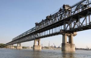 podul peste dunare de la giurgiu