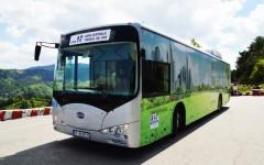 Din 2016, sucevenii se plimbă cu autobuze electrice cumpărate cu banii elvețienilor