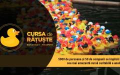 5000 de rățuște din plastic se vor întrece pe apele Dâmboviței în scop caritabil