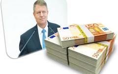 Iohannis a tocat un milion de euro în 6 luni de mandat, pe deplasări în străinătate