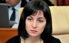 Maia Sandu este noul prim ministru al Republicii Moldova
