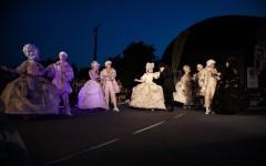 Spectacol aniversar al Teatrului Masca pe Calea Victoriei