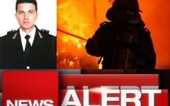Pompier ucis de explozia unei butelii. Marius Daniel Fripis a murit în timpul misiunii