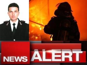Marius Daniel Fripis - pompier mort constanta