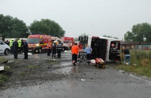 accident autocar baldovinesti
