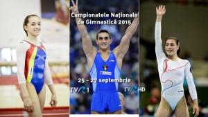 Campionatele Nationale Gimnastica la TVR