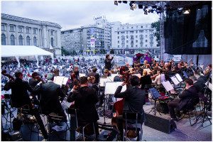 Orchestra Nationala Radio in aer liber