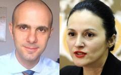 Alina Bica și Şerban Pop, fost șef al Fiscului, arestați preventiv pentru luare de mită