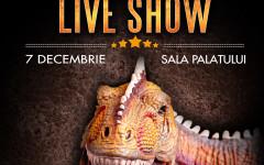 Jurassic Experience, mega show-ul pentru copii, pe 7 decembrie, în premieră la Sala Palatului