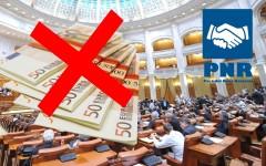 PNR a pus gând rău pensiilor nesimțite ale parlamentarilor români