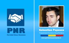 Sebastian Popescu dezvăluie motivul pentru care a înființat Partidul Noua Românie