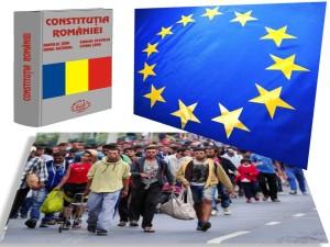 ue - constitutia romaniei - refugiati