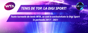 WTA in exclusivitate la Digi Sport