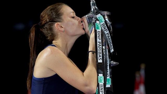 Agnieszka Radwanska - trofeu turneul campioanelor