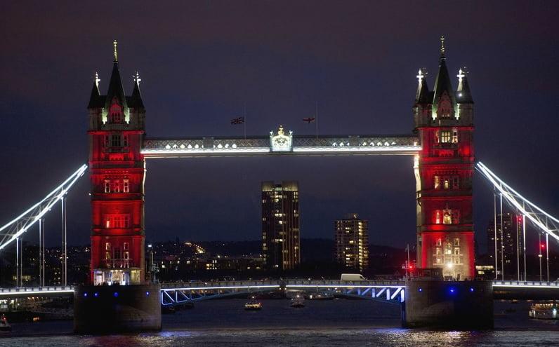 podul londrei - paris