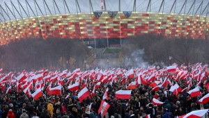 proteste polonia - antimusulmani