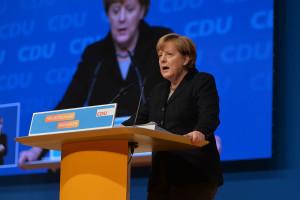 Angela Merkel by Olaf Kosinsky