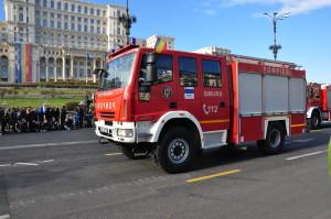 pompieri smurd parada