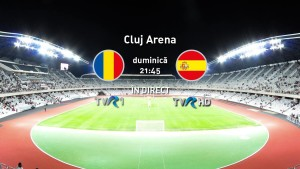 Romania - Spania la TVR