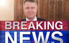 DIICOT îi cere lui Iohannis să dea aviz pentru urmărirea lui Tănăsescu Mihai, Popescu Ioan Dan, Vlădescu Sebastian şi Pogea Gheorghe