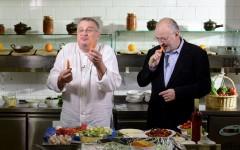 Filosofie în bucătărie la TVR 1, cu Stelian Tănase, la Politică şi delicateţuri