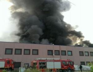 incendiu fabrica jilava